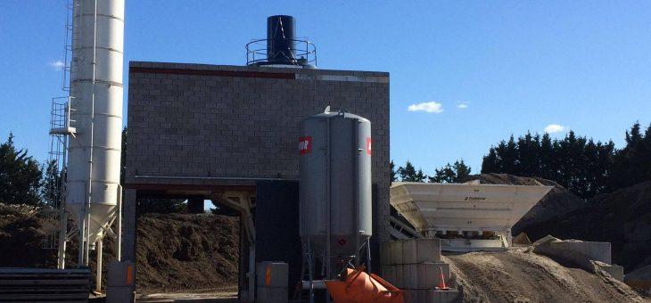 Nieuw sluitingsuur betoncentrale